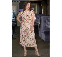 Женское платье за колено ТОП007-PL4-328-70