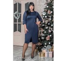 Женское платье с разрезом спереди топs2-PL4-231-23