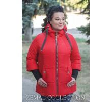 Красная куртка без меха ТОП017-NP1-030