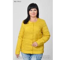 Осенняя женская куртка без капюшона ТОП020-PK1-370