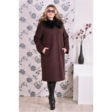 Пальто коричневое (разные версии) ККК992-0151-1