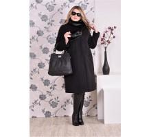 Пальто женское черн (разные версии) ККК997-0153-3