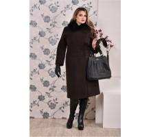 Коричневое пальто (разные версии) ККК9914-0199
