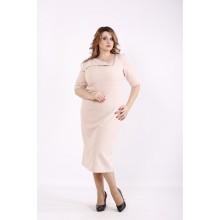 Красивое светлое платье ККК6667-01248-3