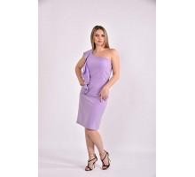 Сиреневое платье 42-74 размер ККК359-0477-1