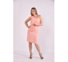 Персиковое платье 42-74 размер ККК358-0477-2