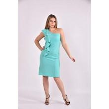 Ментоловое платье 42-74 размер ККК357-0477-3