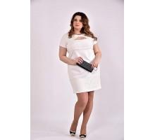 Молочное платье 42-74 размер ККК355-0478-2
