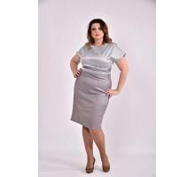 Серое платье 42-74 размер ККК351-0479-3