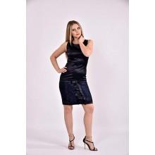 Синее платье 42-74 размер ККК343-0482-2