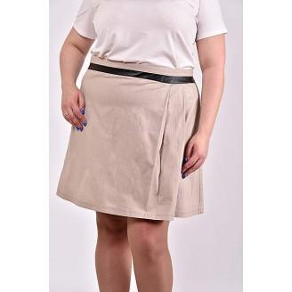 Бежевая юбка 42-74 размер ККК340-0483-2