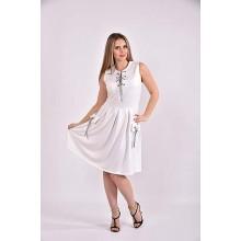 Белое платье 42-74 размер ККК338-0484-1