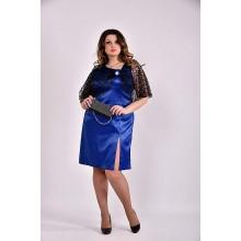 Платье электрик 42-74 размер ККК335-0485-1