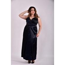 Темно-синее платье 42-74 размер ККК325-0488-2