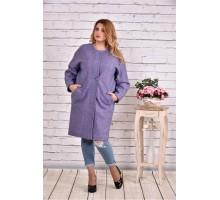 Сиреневое пальто ККК9922-t0602-6