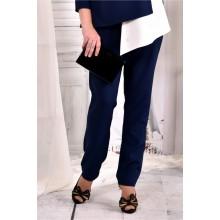 Стильные синие брюки ККК242-030-2