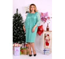 Платье с гипюром ККК1116-0662-2