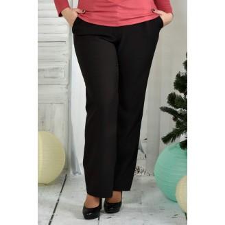 Черные брюки 42-74 размер ККК75-019-1