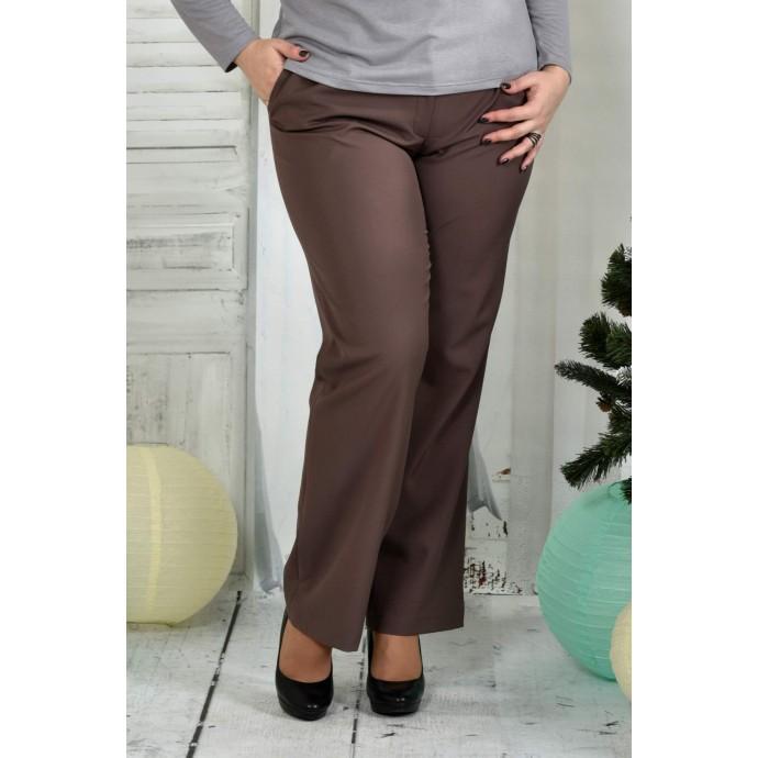 Коричневые брюки 42-74 размер ККК73-019-3