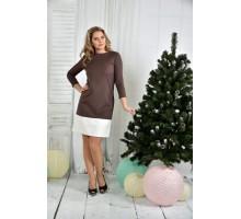 Платье капучино ККК763-0371-1