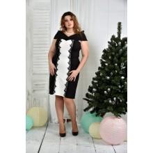 Молочное платье ККК752-0375-3