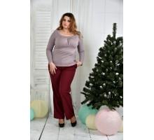 Сиреневая блузка ККК745-0378-1