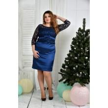 Платье электрик ККК742-0381-1