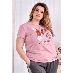 Стрейчевая футболка ККК2993-0562-3