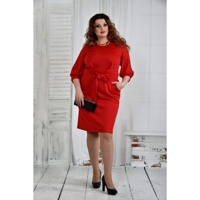 Красное платье 42-74 размер ККК624-0403-1