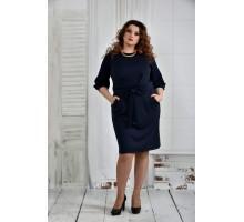 Синее платье 42-74 размер ККК625-0403-2