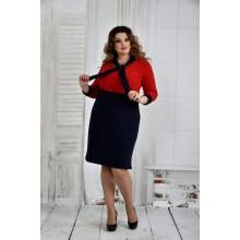 Красное платье 42-74 размер ККК629-0404-3