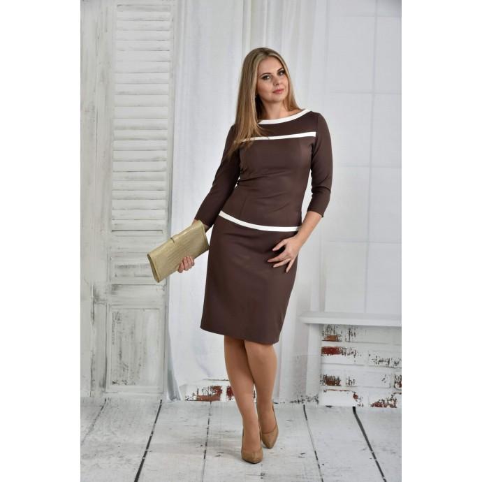 Капучино платье 42-74 размер ККК632-0405-3