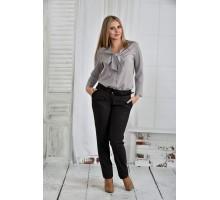 Серая блузка 42-74 размер ККК642-0409-1