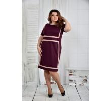 Платье марсал 42-74 размер ККК59-0436-1