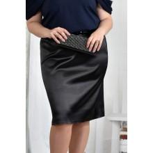 Черная юбка 42-74 размер ККК53-0448-1