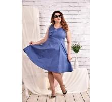 Синее платье 42-74 размер ККК457-0455-2