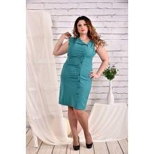 Бирюзовое платье 42-74 размер ККК426-0466-2