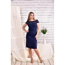 Синее платье 42-74 размер ККК419-0468-3