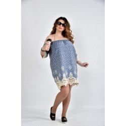 Платье розы 42-74 размеры ККК1015-0514-1
