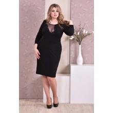 Черное платье ККК95-0195-1