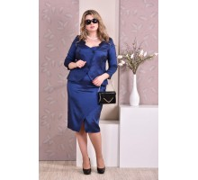 Синий костюм ККК911-0210-1