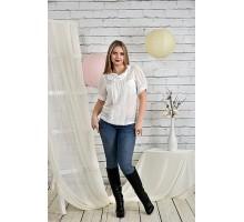 Молочная блузка 42-74 размер ККК229-0425-3