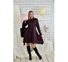 Женское платье бисквит 42-74 размер ККК225-0433-1