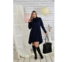 Синее женское платье 42-74 размер ККК223-0433-3