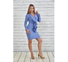 Платье джинс ККК1539-0329-3
