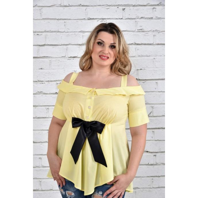 Блуза желтая ККК1537-0331-2