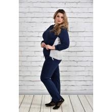 Спортивный костюм темно-синий ККК1524-0337-1