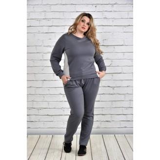 Спортивный костюм темно-серый ККК1523-0337-2