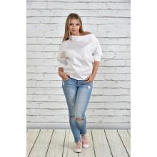 Блузка белая ККК1511-0341-3