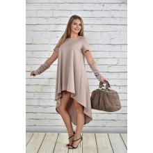 Платье бежевое ККК159-0342-2